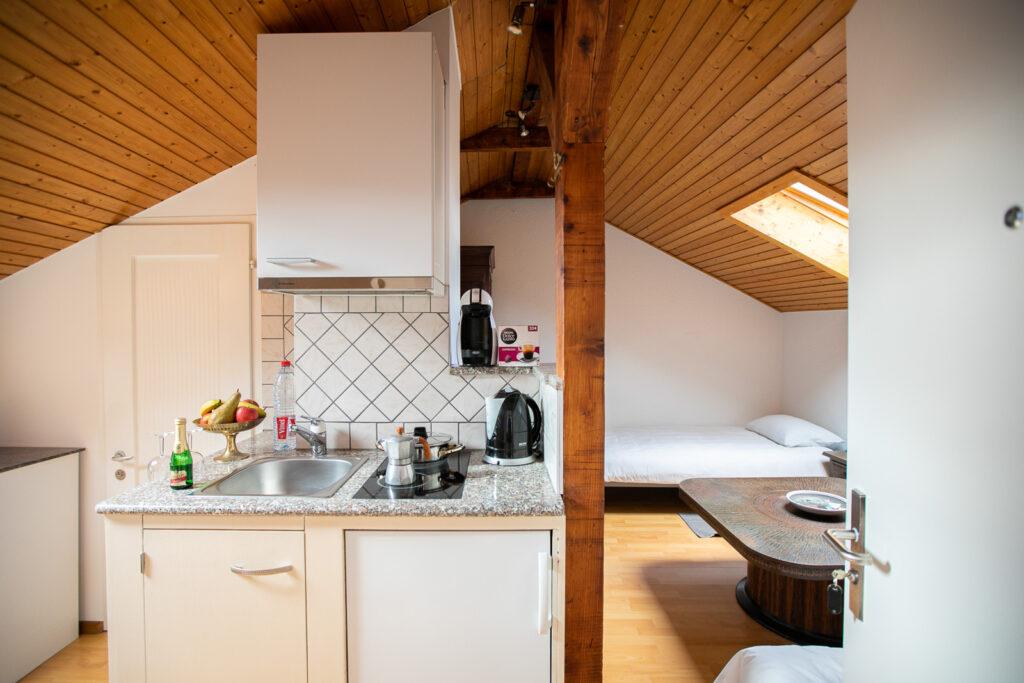 Ansicht Küchen Mansarde